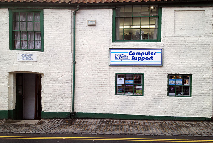 Computer Support's Beverley premises